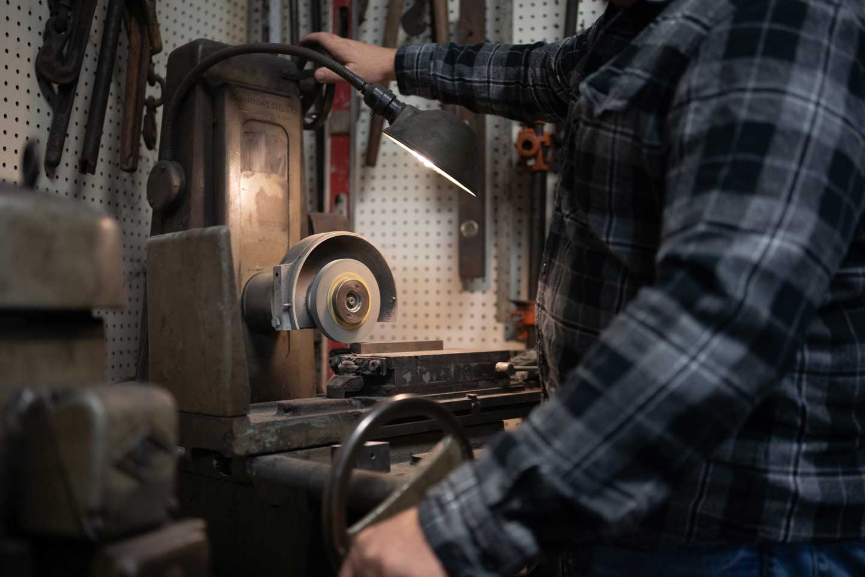 Custom made production parts